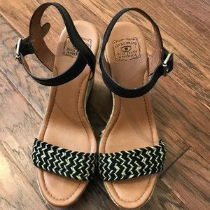 Lucky Brand | Wedge Sandals Size 10
